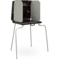 Model 2000 ADA Voting Booth with Hard Curtain