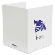 Voter's Choice Cardboard Tabletop Privacy Screen
