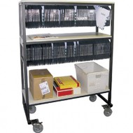 PollCAT™ Equipment Cart Absentee Ballot Rack