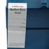Voter's Choice Official Ballot Box Seal