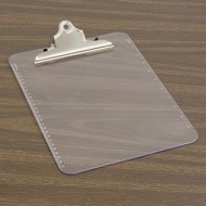 Clear Plastic Clipboard
