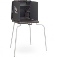 Model 2000 ADA Voting Booth (Soft Curtain)