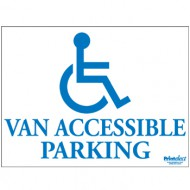 Van Accessible Parking Sign (with Access Symbol)
