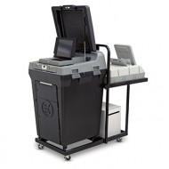 Voter's Choice DS200 and AutoMARK Precinct Cart