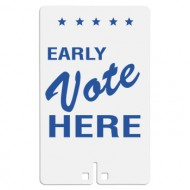 Early Vote Here Sign
