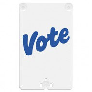 Vote Suction Cup Sign