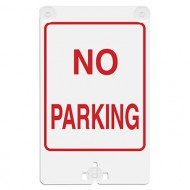 No Parking Suction Cup Sign
