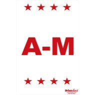 """24"""" x 36"""" A-M Sign for EZ Sign XL"""