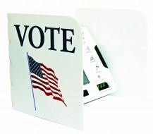 ExpressVote Tabletop Privacy Screen