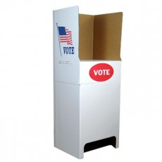 Cardboard Voting Booth