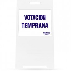 Early Voting (Votacion Temprana) Sign