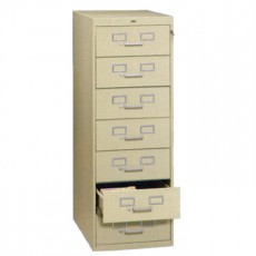 7 Drawer Multi-Media File Cabinet
