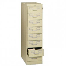 8 Drawer Multi-Media File Cabinet