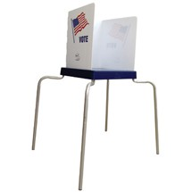 SMARTPOLL Handicapped-Accessible Voting Booth