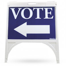 Voter's Choice Sign Stand