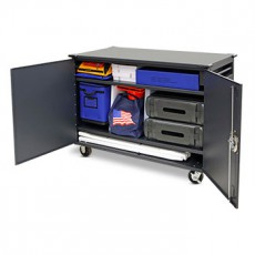 Voter's Choice EZ Cart 1000 Rolling Precinct Storage Cabinet
