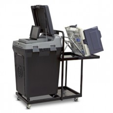 Voter's Choice DS200 and AccuVote TSX Precinct Cart