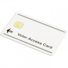 AccuVote-TSX Voter Access Key Card