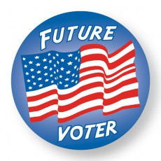 Future Voter Sticker